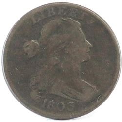 1803 Draped Bust Large Cent.