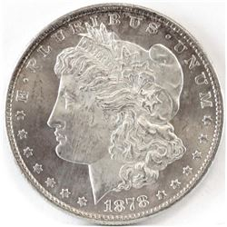 1878 S Morgan Dollar.