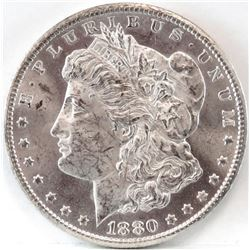 1880 CC Morgan Dollar - VAM 5 - 8/7 High Overdate - Top 100.