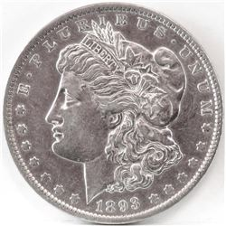 1893 Morgan Dollar.