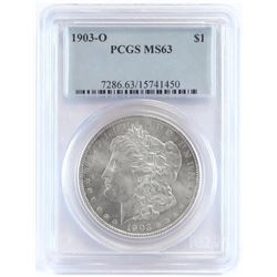 1903 O Morgan Dollar. PCGS Certified MS63.