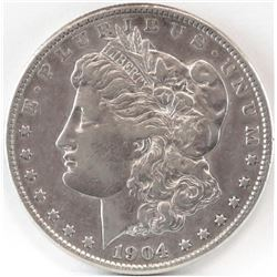 1904 S Morgan Dollar.