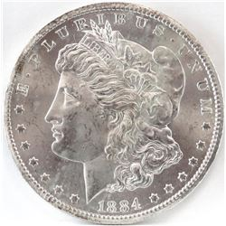 1884 CC Morgan Dollar - VAM 2 - Double 18 Top.