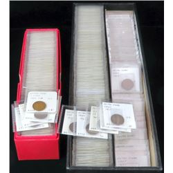 Over (250)+ Lincoln Wheat Cents - with Semi Keys  multiples.