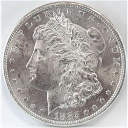 1885 S Morgan Dollar.