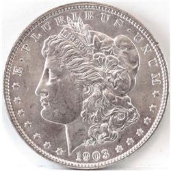 1903 O Morgan Dollar.