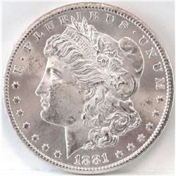 1881 CC Morgan Dollar.