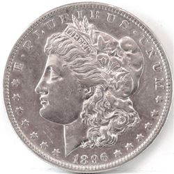 1896 S Morgan Dollar.