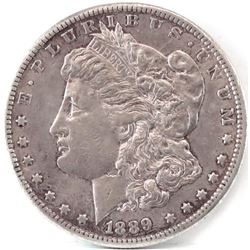1889 CC Morgan Dollar.