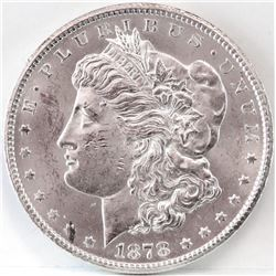1878 CC Morgan Dollar.