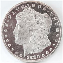 1880 CC Morgan Dollar - VAM 6 - 8/7 Overdate Set Low - Top 100.