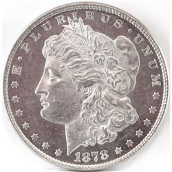 1878 Morgan Dollar.