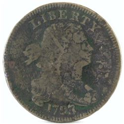 1798/7 Draped Bust Large Cent.