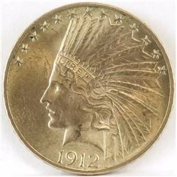 1912 $10 Indian Gold.