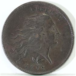1793 Flowing Hair Large Cent.