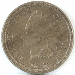 1860 Indian Head Cent.