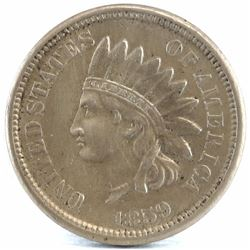 1859 Indian Head Cent.