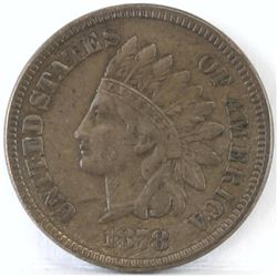 1878 Indian Head Cent.