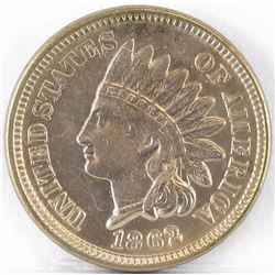 1862 Indian Head Cent.