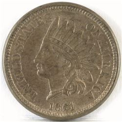 1861 Indian Head Cent.