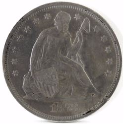 1873 Seated Liberty Dollar.