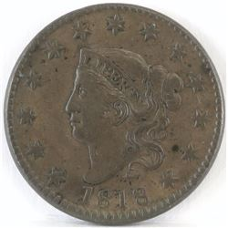 1818 Coronet Head Large Cent.