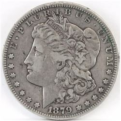 1879 CC Morgan Dollar.