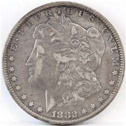1882 CC Morgan Dollar.
