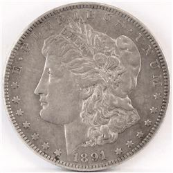 1891 CC Morgan Dollar.