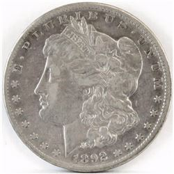 1892 CC Morgan Dollar.