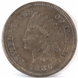 1886 Ty.1 Indian Head Cent.