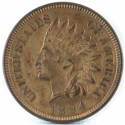 1894 Indian Head Cent.