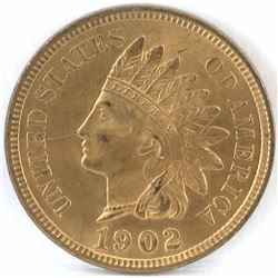 1902 Indian Head Cent.