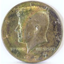 1967 Kennedy Half Dollar - Rainbow Toned!