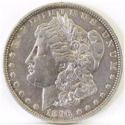 1896 O Morgan Dollar.