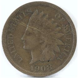 1908 S Indian Head Cent.