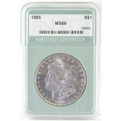 1885 Morgan Dollar. NTC Certified MS66.