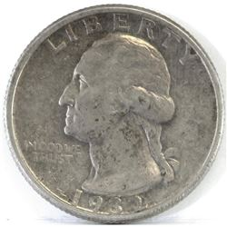 1932 D Washington Quarter.