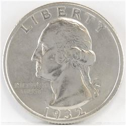 1932 S Washington Quarter.