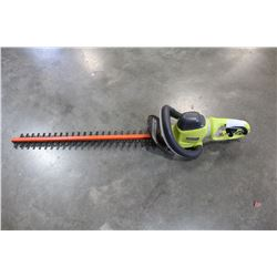 RYOBI ELECTRIC HEDGE TRIMMER