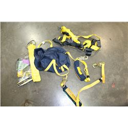BAG OF FALL ARREST EQUIPMENT