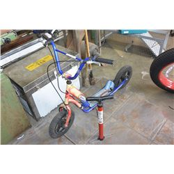 THE BLADE SCOOTER AND BIKE TIRE PUMP