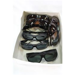 TRAY OF LOST PROPERTY POLAR SHIELD SUNGLASSES