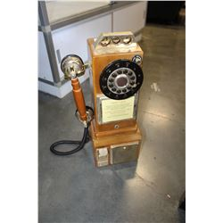 VINTAGE STYLE WALL TELEPHONE