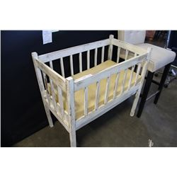 SMALL PAINTED CRIB