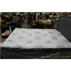 AS NEW FLOOR MODEL SEALY EURO TOP POCKET COIL MATTRESS MEDIUM FIRM RETAIL $1199