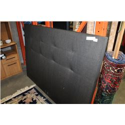 NEW HOME ELEGANCE GREY MODERN QUEENSIZE HEADBOARD RETAIL $279