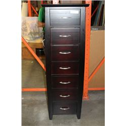 TALL ESPRESSO FINISH LINGERIE CHEST