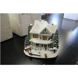 THOMAS KINKADE HAWTHORNE VILLAGE VICTORIAN HOMESTEAD WITH CERTIFICATE