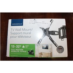 "13-32"" INSIGNIA FULL MOTION TV WALL MOUNT"